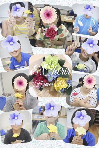 お花でみんな笑顔♪
